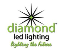 diamond led lighting logo